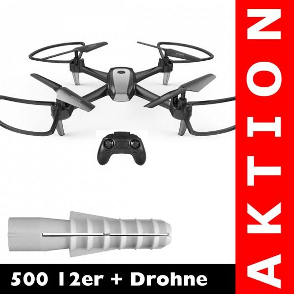 500 12er + 2.4G Drohne