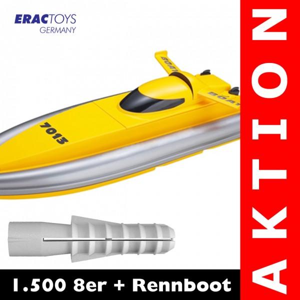 1.500 8er + R/C Rennboot